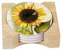sunflower kitchen decor theme ceramics | canister | cookie jar