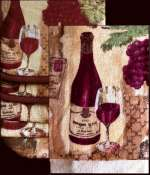 Grape kitchen decor theme ceramics | wine grape | Tuscan ...